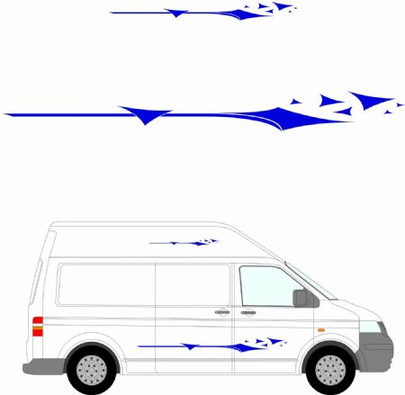 (No.259) MOTORHOME GRAPHICS STICKERS DECALS CAMPER VAN CARAVAN UNIVERSAL FITTING